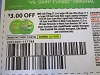 15 Coupons $3/1 Gain Flings 37ct or Ultra Flings 21ct  Laundry Detergent 12/12/2020