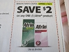 15 Coupons $2/1 Afrin 1/10/2021