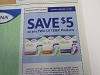 15 Coupons $5/2 Tena 1/17/2021