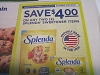 15 Coupons $4/2 Splenda Sweetener 3/21/2021