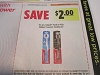 15 Coupons $2/1 Colgate Battery Powered Toothbrush 4/10/2021