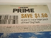 15 Coupons $1.50/1 Purina Prime Dog Treats 3oz Pouch 6/20/2021