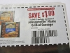 15 Coupons $1/1 Johnsonville Flame Grilled Sausage DND 8/31/2018