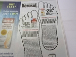 15 Coupons $4/1 Kerasal Fungal Nail Renewal + 15 $2/1 Kerasal Intensive Foot Repair 9/29/2018