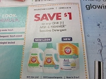 15 Coupons $1/1 Arm & Hammer Sensitive Detergent 6/2/2018