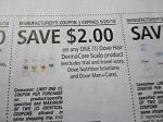 15 Coupons $2/1 Dove Hair DermaCare Scalp 5/20/2018