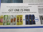 15 Coupons Buy 1 Suave Professionals Hair Care Get 1 Suave Men Hair Care FREE 5/26/2018
