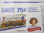 15 Coupons $.75/1 Little Debbie Turtle Brownies 6/30/2018