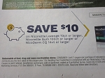 15 Coupons $10/1 Nicorette Lozenge 72ct, Gum 100ct or NicoDerm CQ 14ct 6/23/2018