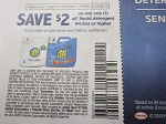 15 COUPONS $2/1 ALL LIQUID DETERGENT 94.5OZ+ 6/9/2018