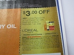 15 Coupons $3/1 Loreal Paris Elvive or Hair Expert Hair Care Treatment 6/2/2018