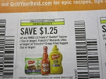 15 Coupons $1.25/3 Frank's Redhot Hotsauce or French's Mustard or Crispy Fried Veggies 6/24/2018