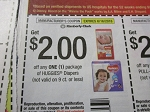 15 Coupons $2/1 Huggies Diapers 6/16/2018