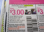 15 Coupons $3/2 U by Kotex Pads or Liners 6/16/2018