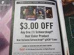 15 Coupons $3/1 Schwarzkopf Hair Color 6/24/2018