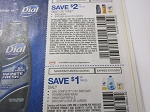 15 Coupons $2/2 Dial or Tone Body Wash or 6pk Bar + 15 $1/2 Dial Complete Foaming Hand 3pk Bar or Refills 7/1/2018