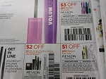 15 Coupons $3/1 Revlon Mascara + 15 $2/1 Revlon Eye Shadow + 15 $1/1 Revlon Eye Tool 6/24/2018
