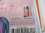 15 Coupons $2/1 Almay  Lip Cosmetic 6/24/2018
