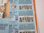 15 Coupons $4/1 Almay Face + 15 $1/1 Almay Makeup Remover + 15 $3/2 Makeup Removers 6/24/2018
