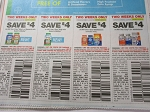 15 Coupons $4/1 One a Day with Nature Medley + $4/1 Kids with Nature Medley + 15 $4/1 Multivitamin + 15 $4/1 50+ Multivitamin 6/23/2018