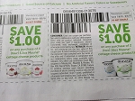15 Coupons $1/4 Muuna Cottage Cheese 5.3oz +15 $1/2 Muuna Cottage Chesse 16oz DND 8/5/2018