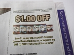 15 Coupons $1/1 Dove Chocolate Covered Dusted Nuts or Fruit & Nuts DND 8/19/2018