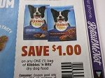15 Coupons $1/1 Kibbles n Bits Dry Dog Food 9/8/2018