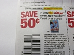 15 Coupons $.50/1 Kellogg's Froot Loops Wild Berry Cereal 8/19/2018