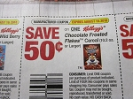15 Coupons $.50/1 Kellogg's Chocolate Frosted Flakes Cereal 8/9/2018