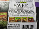 15 Coupons $.50/2 Nature Valley Granola Bars 9/1/2018