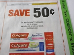 15 Coupons $.50/1 Colgate Toothpaste 3.0oz+ 7/21/2018