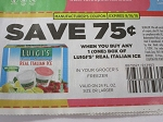 15 Coupons $.75/1 Luigi's Real Italian Ice 9/16/2018