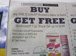 15 Coupons Buy 1 Schick Women's Razor or Refill Get 1 Skintimate 7oz Shave Gel FREE 8/12/2018