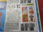15 Coupons $.75/2 Lucky Charms Cinnamon Toast Crunch Cocoa Puffs Cereal 9/8/2018