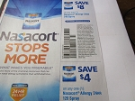 15 Coupons $8/1 Nasacort Allergy 24hr 240 Spray + 15 $4/1 Nasacort Allergy 24Hr 120 Spray 8/18/2018