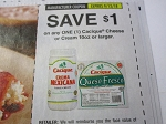15 Coupons $1/1 Cacique Cheese or Cream 10oz+ 9/12/2018