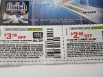 15 Coupons $3/1 Finish Quantum Automatic Dishwasher Detergent + 15 $2/1 Finish Jet 8/29/2018