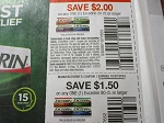 15 Coupons $2/1 Excedrin 20ct 8/19/2018 + 15 Coupons $1.50/1 Excederin 80ct 10/7/2018