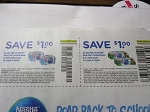 15 Coupons $1/2 Nestle Pure Life Purified Water .5L 15ct + 15 $1/2 Nestle Pure Life 8oz 12ct 9/5/2018