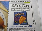15 Coupons $.75/1 State Fair Corn Dog 4oz DND 9/30/2018