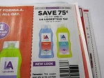 15 Coupons $.75/1 LA Looks Hair Gel 20oz DND 9/16/2018