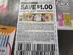 15 Coupons $1/2 BIC Stationery 8/24/2018