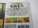 15 Coupons $.50/2 Nature Valley Granola Bars 9/29/2018