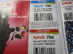 15 Coupons $.75/1 Dole Dippers 9/30/2018 + 15 $.75/1 Box Dole Dippers 10/28/2018