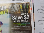 15 Coupons $2/2 Broo Craaft Beer Shampoo or Conditioner 12/31/2018