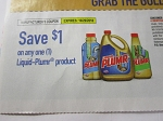 15 Coupons $1/1 Liquid Plumer 10/29/2018