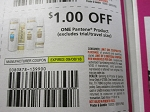 15 Coupons $1/1 Pantene Product 9/8/2018