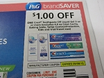 15 Coupons $1/1 Crest Toothpaste or Liquid Gel 3oz 9/8/2018