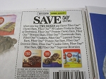 15 Coupons $.50/2 Fiber One Chewy Bars 10/20/2018