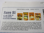 15 Coupons $1/4 Uncle Ben's Brand Rice Products 10/21/2018